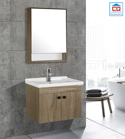Bộ tủ chậu lavabo cao cấp Bross BR 600