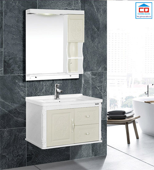 Tủ chậu lavabo cao cấp Bross BR 804