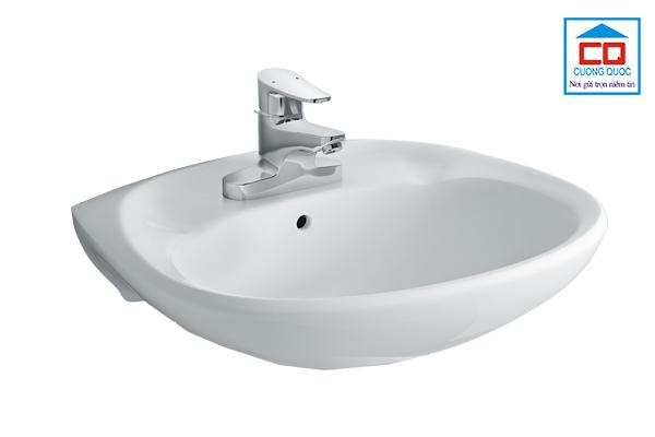 Chậu rửa mặt treo tường Inax L-284V(EC/FC)/BW1