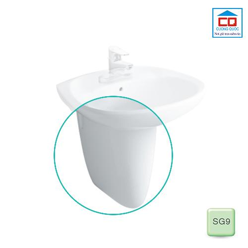 Chân chậu rửa Inax treo tường L-284VC/SG9 chính hãng