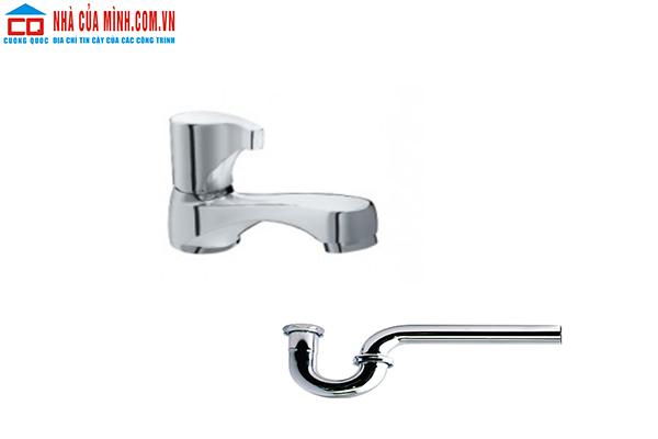 Vòi chậu lavabo + Ống thải Inax LFV-13BP