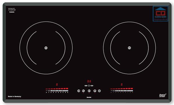 Bếp từ âm Lorca LCI-809P hai vùng nấu