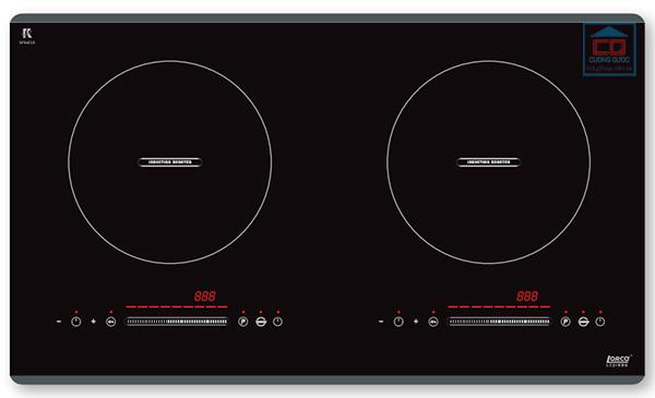 Bếp từ đôi Lorca LCI-886 cao cấp