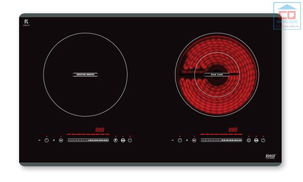 Bếp điện từ âm Lorca LCE-886 hai vùng nấu