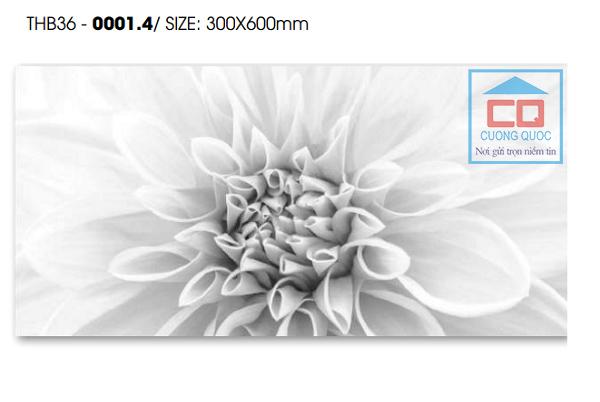 Gạch Thạch Bàn THB36 - 0001.4 - Gạch 300x600 ốp tường