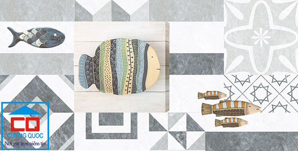 Gạch Thạch Bàn TDB36 - 0101.4 - Gạch điểm ốp tường trang trí