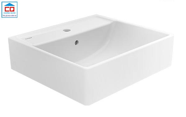 Chậu rửa dương bàn Viglacera Platinum P.22.320