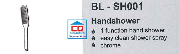 Bát sen tắm 1 chức năng Bello BL - SH001