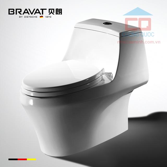 Bồn cầu 1 khối cao cấp Bravat C21120XUW-3BA-ENG