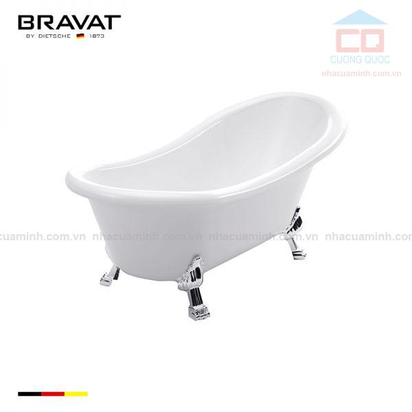 Bồn tắm đặt sàn cao cấp Bravat B25709W-B