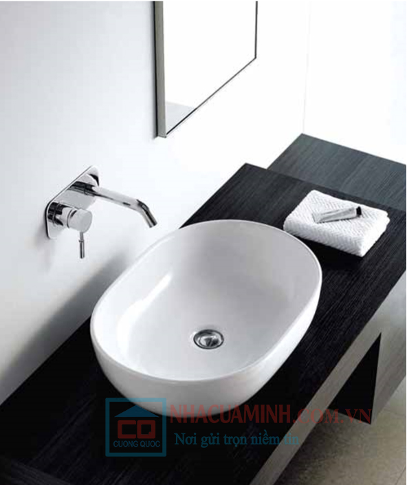 Chậu lavabo đặt bàn Bello BB - 800322