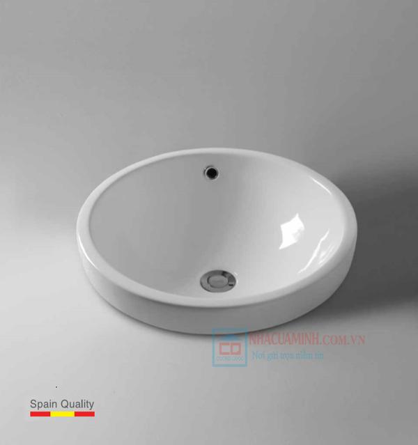 Chậu rửa mặt nhập khẩu Bello BT - 500152