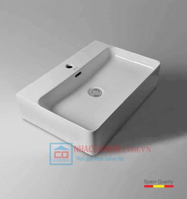 Chậu rửa mặt đặt bàn lavabo Bello BT - 500180