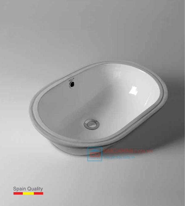 Chậu rửa lavabo dương vành Bello BT - 500183