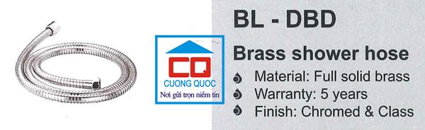 Dây sen tắm nhập khẩu Bello BL - DBD