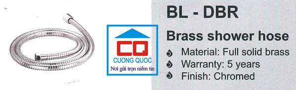 Dây sen tắm nhập khẩu Bello BL - DBR