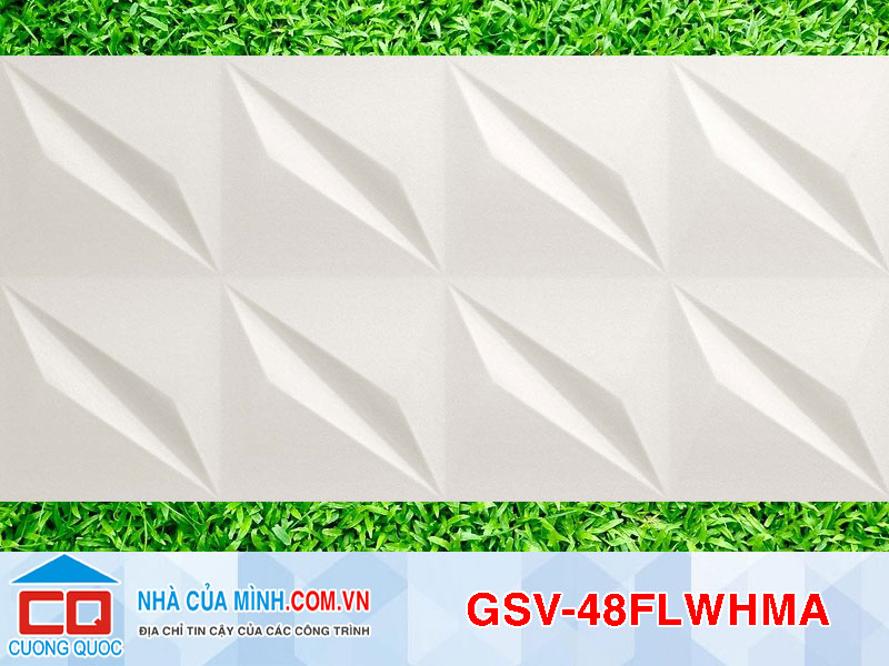 Gạch ố tường Italia 400x800 GSV-48FLWHMA giá rẻ