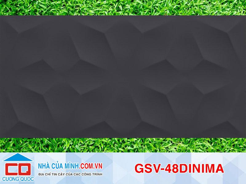 Gạch ITALIA GSV-48DINIMA 3DWALL 8DDN Diamond Night Matt  cao cấp