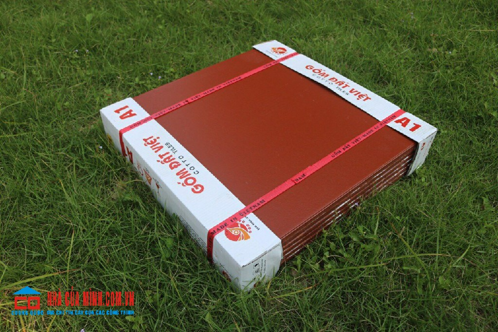 Gạch Cotto 30x30 - 40x40 - 50x50 tráng men đỏ Đất Việt