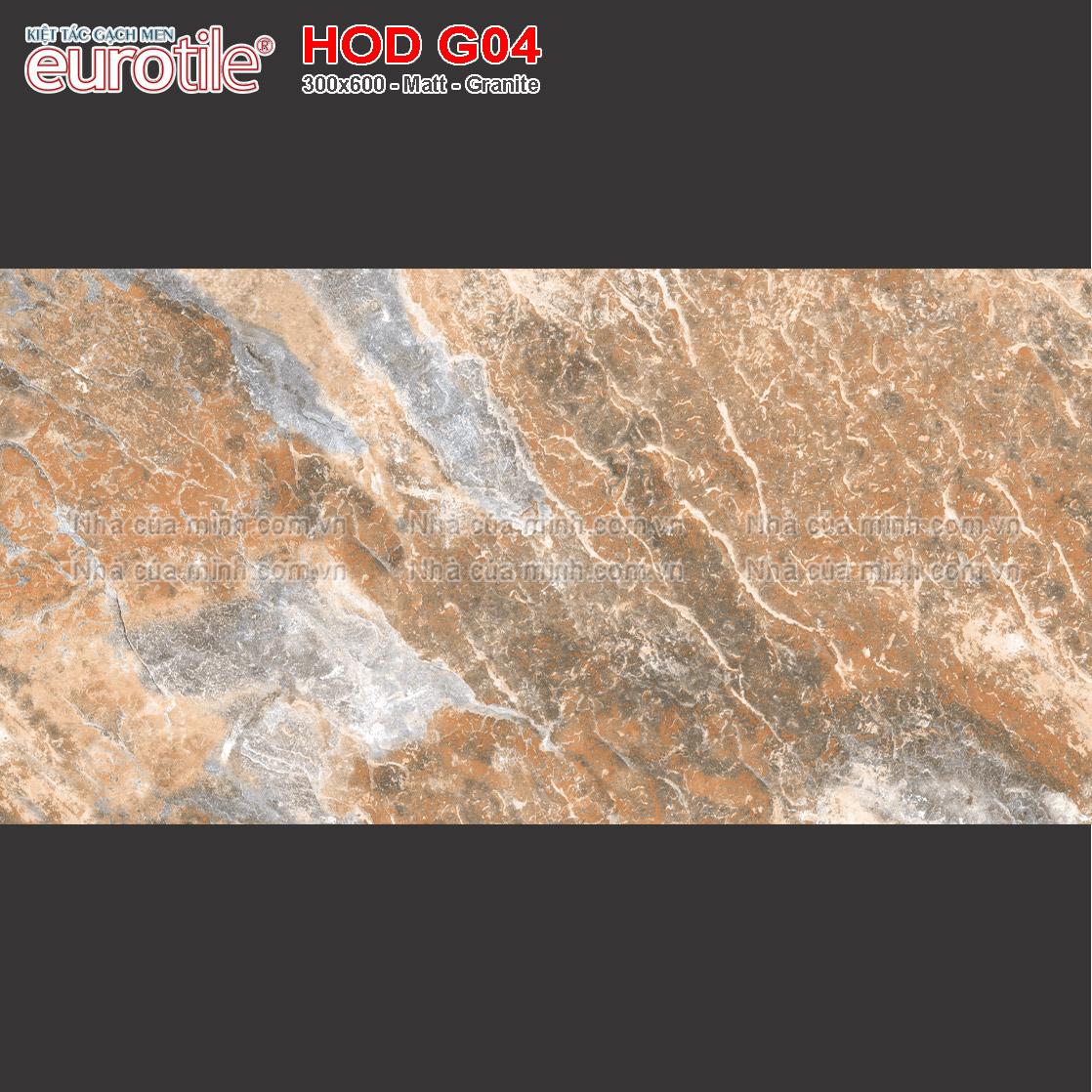 Gạch ốp lát 300x600 Eurotile Hoa Đá HOD G04 giá rẻ