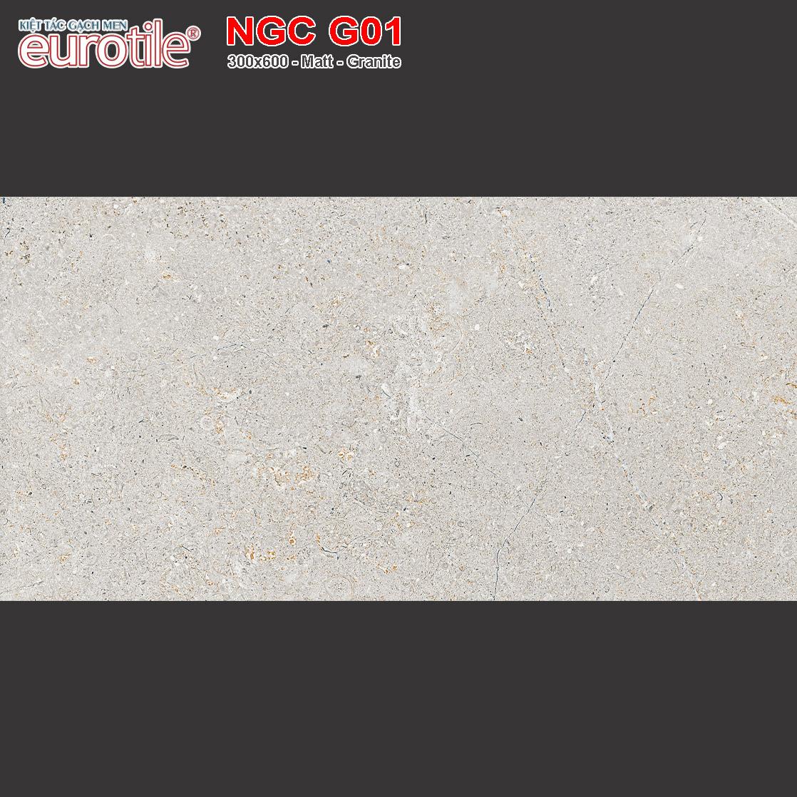 Gạch Eurotile 300x600 Nguyệt Cát NGC G01 giá rẻ