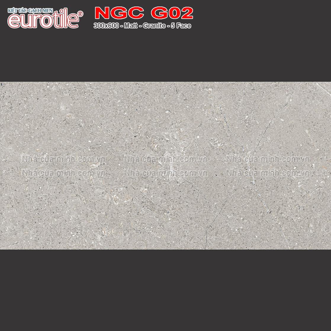 Gạch Eurotile 300x600 Nguyệt Cát NGC G02 giá rẻ