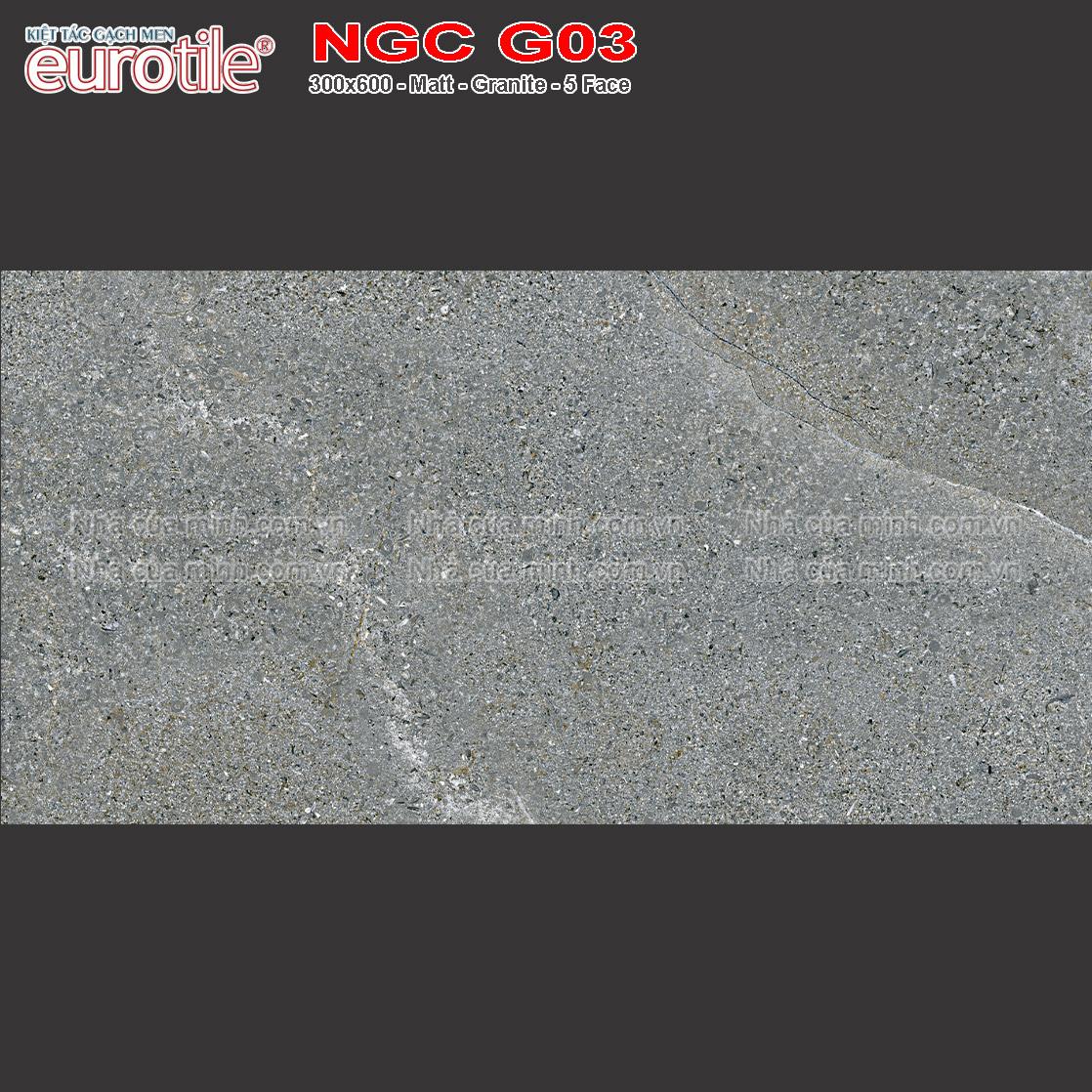 Gạch 300x600 Eurotile Nguyệt Cát NGC G03 giá rẻ