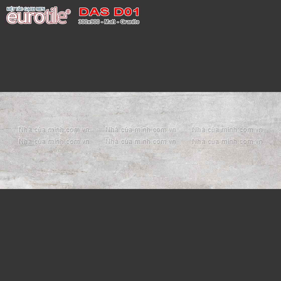 Gạch 300x900 Eurotile Đăng Sơn DAS D01 giá rẻ