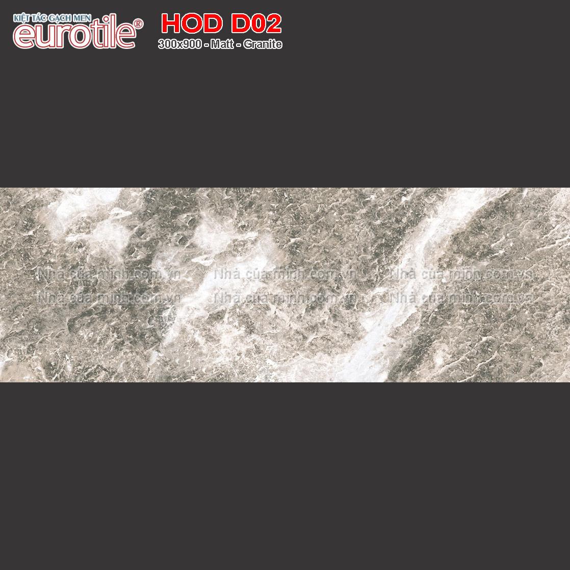 Gạch ốp lát 300x900 Eurotile Hoa Đá HOD D02 giá rẻ