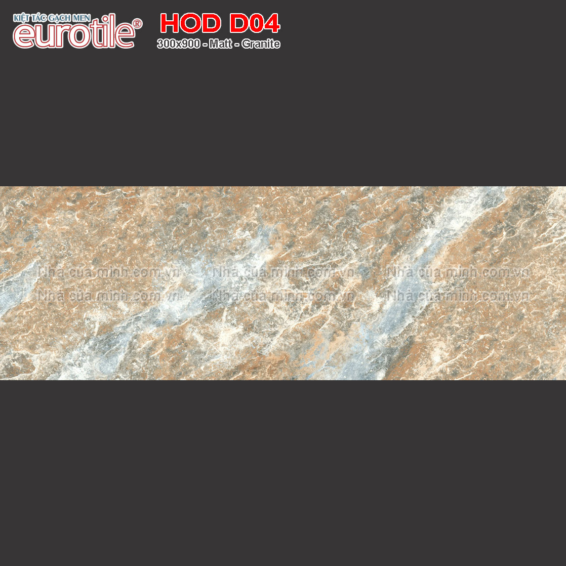 Gạch ốp lát 300x900 Eurotile Hoa Đá HOD D04 giá rẻ