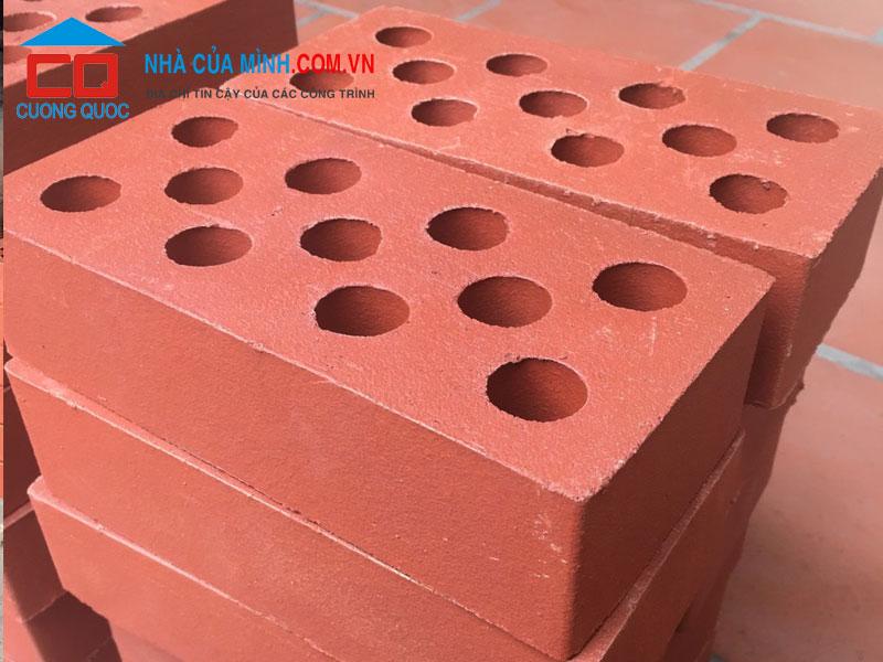 Gạch xây không trát gạch 11 lỗ Ngọc Sáng giá rẻ
