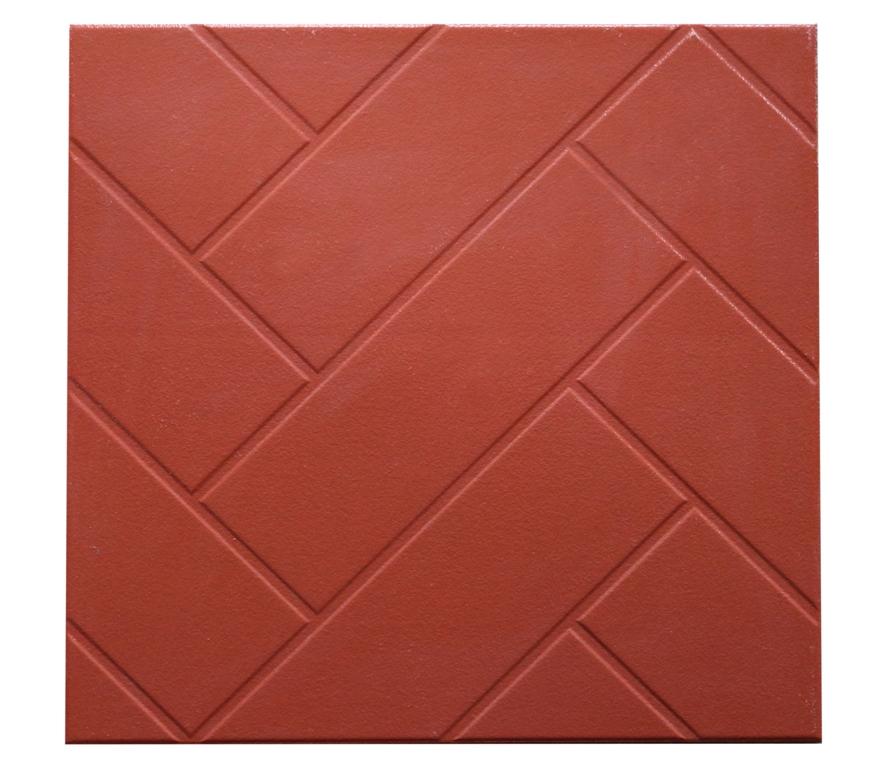 Gạch Cotto Takao 400x400 màu đỏ vân chéo giá rẻ