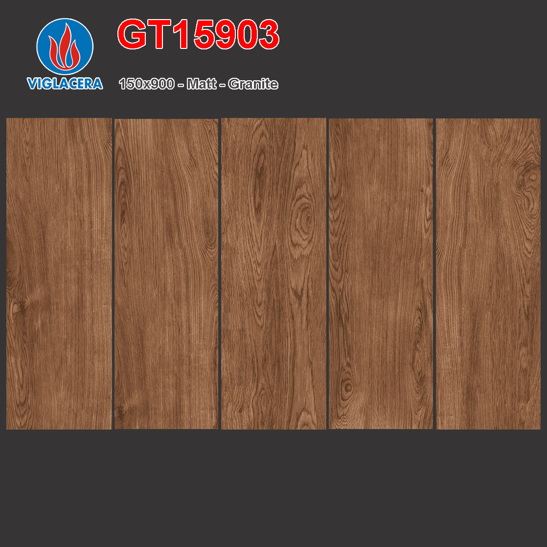 Gạch lát vân gỗ 150x900 Viglacera GT15903 giá rẻ