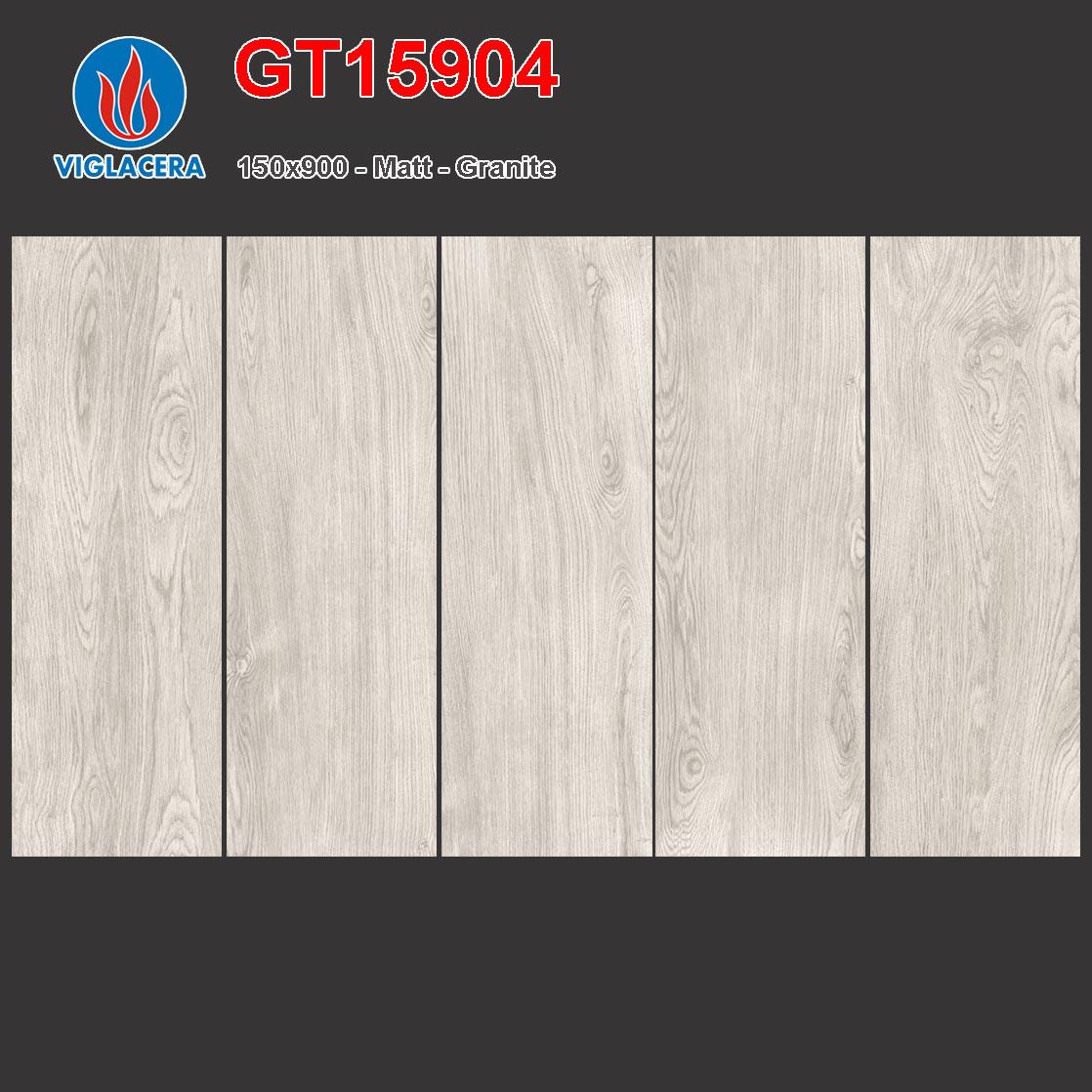 Gạch lát vân gỗ 150x900 Viglacera GT15904 giá rẻ