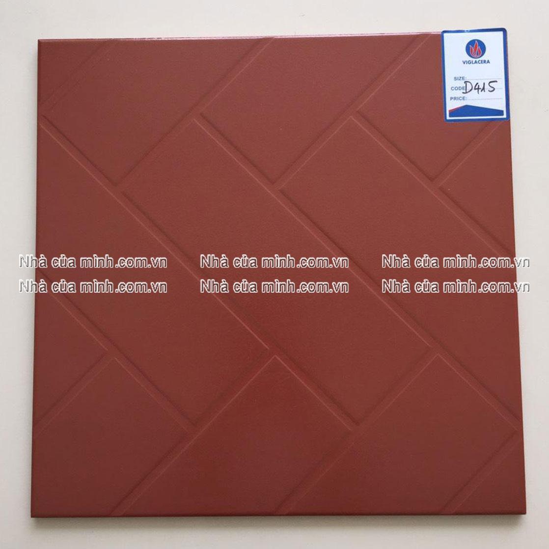 Gạch cotto Viglacera 400x400 D415 giá rẻ