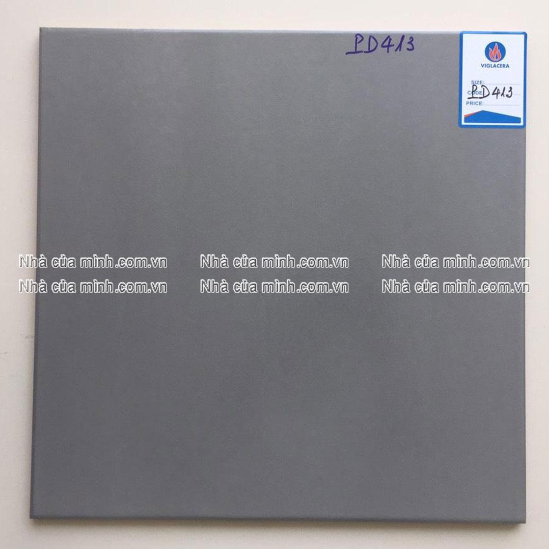 Gạch Cotto xám tro 400x400 Viglacera PD413 giá rẻ