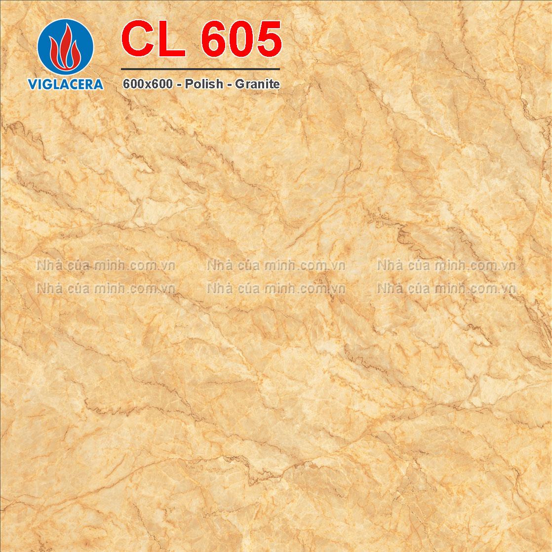 Gạch lát nền 600x600 Viglacera CL 605 giá rẻ