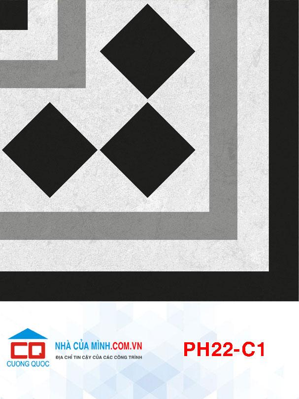 Gạch bông viền góc Viglacera PH22-C1 giá rẻ