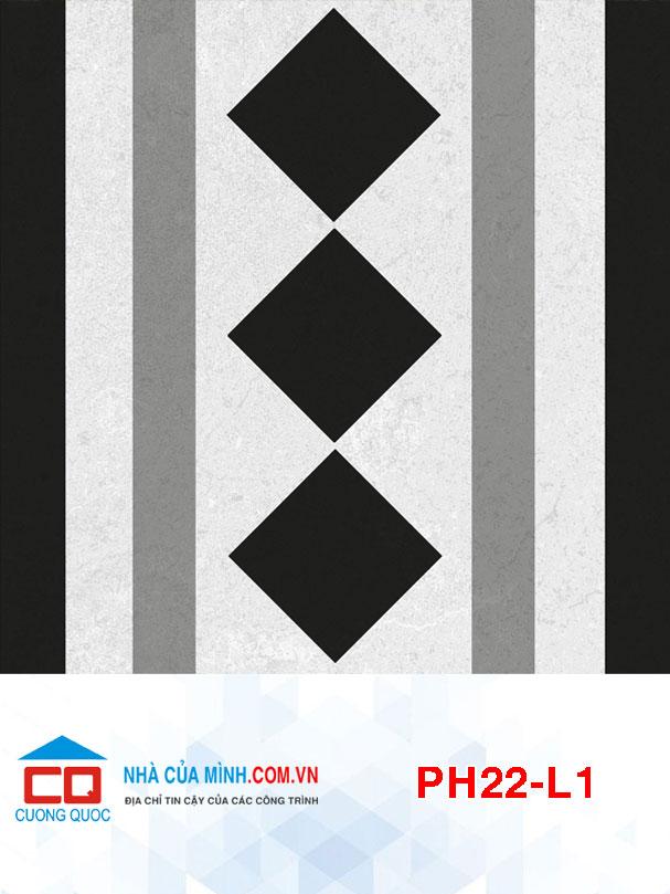 Gạch bông lát viền Viglacera PH22-L1 giá rẻ