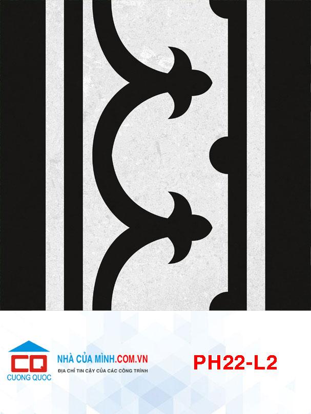 Gạch bông lát viền Viglacera PH22-L2 giá rẻ