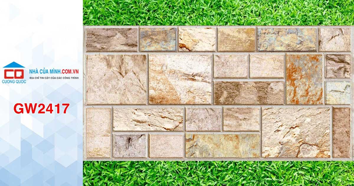 Gạch ốp tường giả cổ Viglacera GW2417 giá rẻ