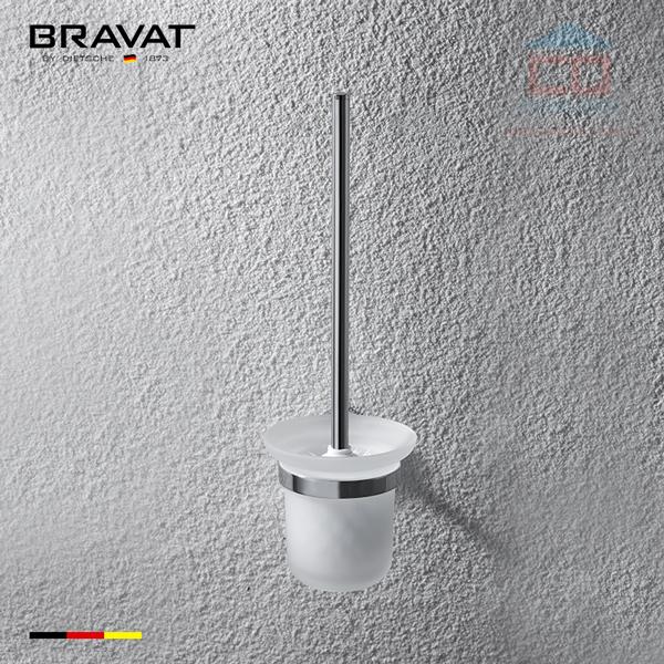 Kệ đựng chổi cọ bồn cầu cao cấp Bravat D755C-1