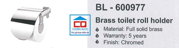 Lô giấy vệ sinh cao cấp Bello BL - 600977