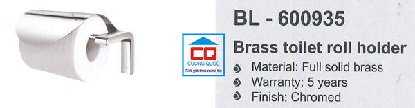 Lô giấy vệ sinh cao cấp Bello BL - 600935