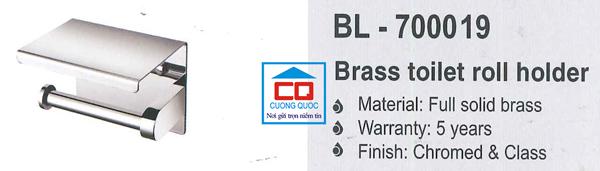 Lô giấy vệ sinh nhập khẩu Bello BL - 700019