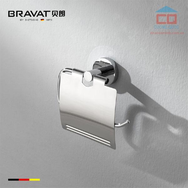 Móc treo giấy vệ sinh cao cấp Bravat D739C-1-ENG