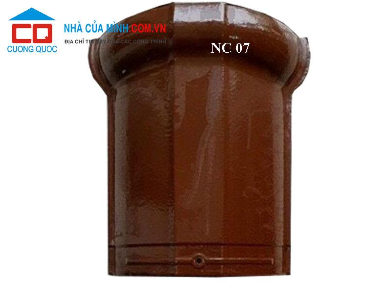 Ngói bò nóc phụ kiện ngói 1 vít CMC NC 07 cao cấp