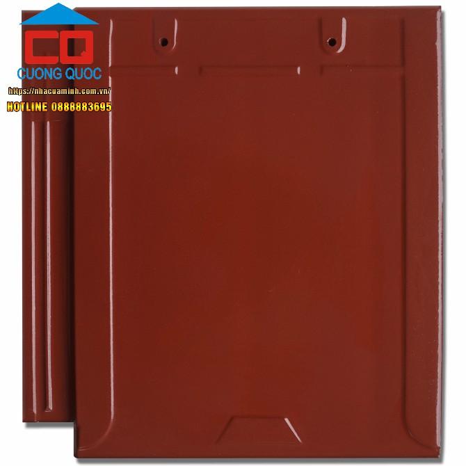 Ngói phẳng tráng men đỏ Viglacera T 09 giá ưu đãi