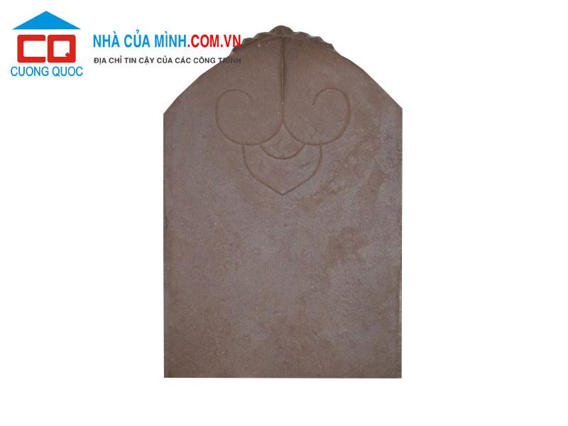 Ngói hài cổ Thạch Bàn màu nâu đậm MHC-03 giá tốt