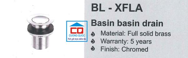 Nút nhấn chậu lavabo Bello BL - XFLA